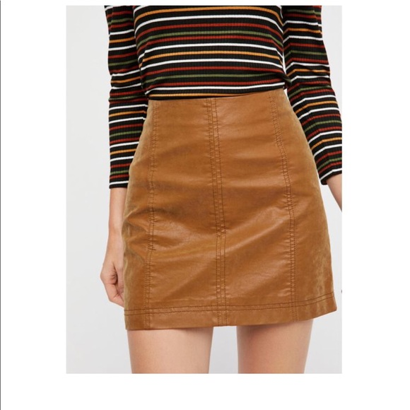 e1fcceecfc Free People Dresses & Skirts - Free People Modern Femme Vegan Suede Mini- Skirt